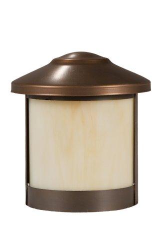 Highpoint Deck Lighting Hp-550p-mbr Genesis 12-volt Surface Mount Rail Light Fixture Antique Bronze
