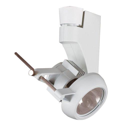 Jesco Lighting HMH270T4NF70-W Contempo 270 Series Metal Halide Track Light Fixture T4 24-Degree Narrow Flood 70 Watts White Finish