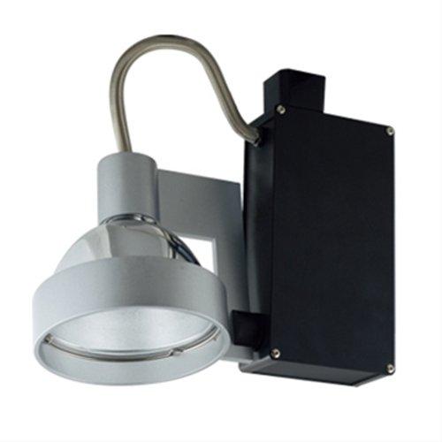 Jesco Lighting HMH701P3070S Contempo 701 Series Metal Halide Track Light Fixture PAR30 70 Watts Silver Finish
