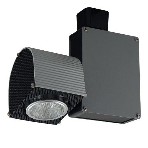 Jesco Lighting HMH703ES1620B Contempo 703 Series Metal Halide Track Light Fixture ES16 20 Watts Black Finish