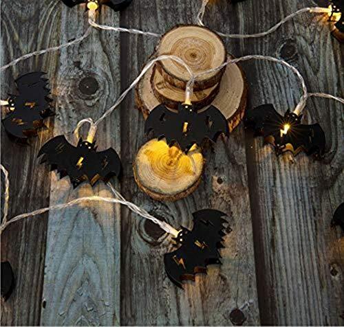 String Lights Light String Halloween Led Outdoor Party Holiday Hat Ghost Pumpkin Bedroom Lantern Christmas Living Room Decoration Gift Boy Size  2m10LED