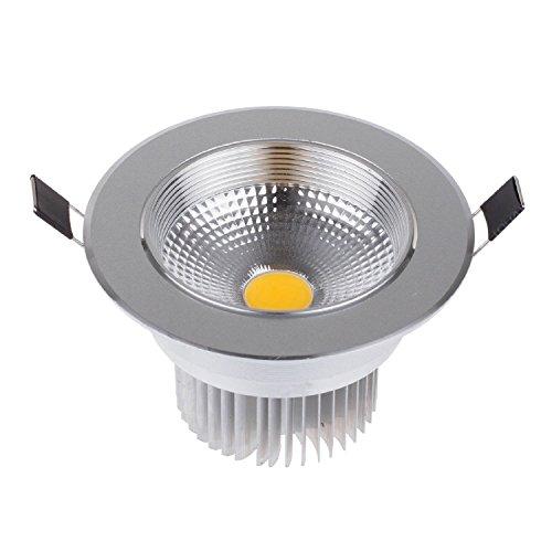 Lemonbest&reg Energy Saving Bright Dimmable Round Recessed Led Ceiling Light Lamp Flood Downlight Warm White 5 Watts