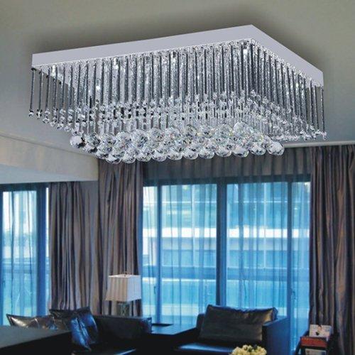 Lightinthebox 12w Artistic Led Ceiling Light In Crystal Beaded Design Modern Home Ceiling Light Fixture Flush