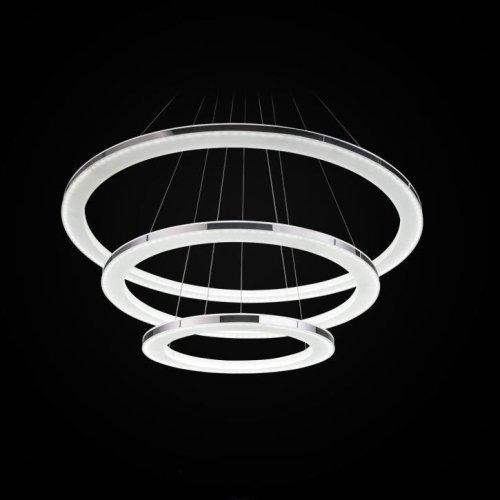 Lightinthebox Pendant Light Modern Design Led Living Three Rings Modern Simple Ceiling Light Fixture Chandeliers