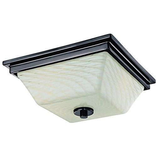 Westinghouse 6342700 Wilkes 2 Light Indoor Flush Ceiling Fixture Gun Metal