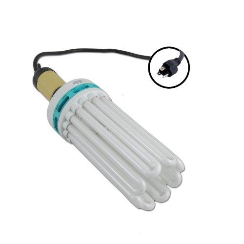 250 Watt CFL Compact Fluorescent 2700K Mogul Socket Kit for Flowering