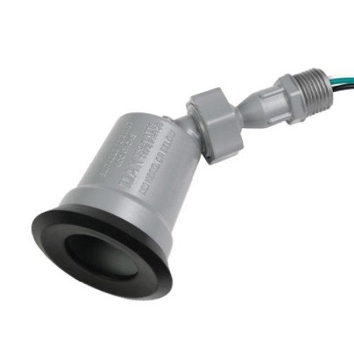 Hubbell-Bell LTS100S TraditionalCfl Uses Par 38 Bulb 150-watt Max Weatherproof Lamp Holder Swivel Joint Gray