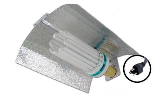 Hydro Crunch Horticulture 250W CFL Compact Fluorescent Grow Light Reflector System - 2700k