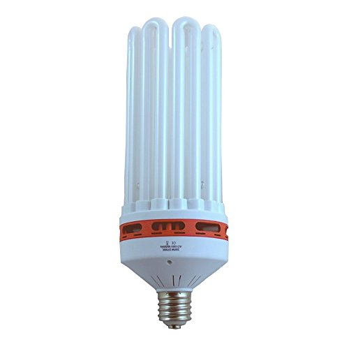 SPL Horticulture 150 Watt CFL Compact Fluorescent Grow Light Bulb System of 2700k for Plant Growing