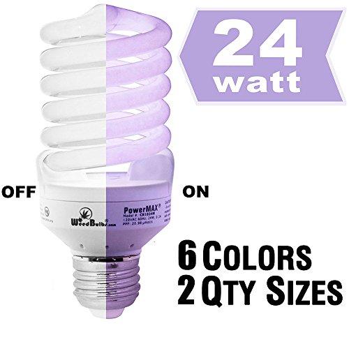 Weedbulbs  Powermax - Single Stage  Full Spectrum Cfl Grow Light 4-pack Modelcb1024ma 24w120v60hz