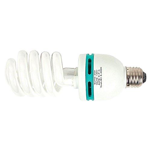 25 Watt 6400k Compact Fluorescent Lamp Bulb Cfl Lamp Grow Light Veg