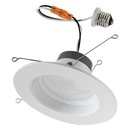 16Watt 56- Inch Energy Star ETL-Listed Dimmable California Title24 JA8 LED Downlight Retrofit Recessed Lighting Kit Fixture 2700K Soft White LED Ceiling Light Wet Location - 1200LM 2700K