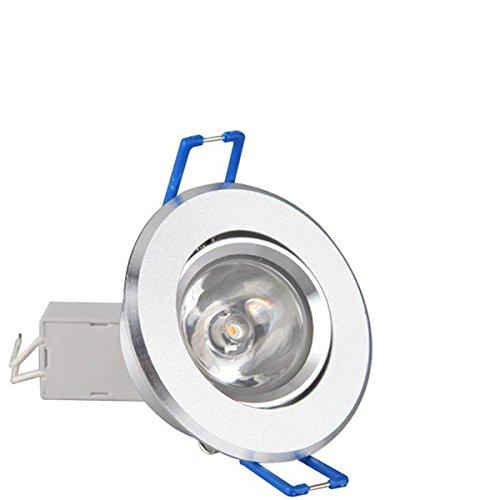 JXHJQY 3W 300LM 3500K Warm White LED Ceiling Light 100-240V