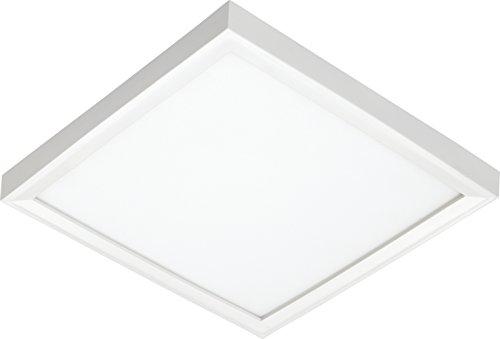 Juno Lighting JSFSQ 7IN 10LM 30K 90CRI MVOLT ZT WH LED Square 7-Inch Slim Form Flush Mount Ceiling Light White