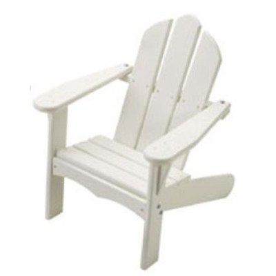 Personalized Kids Adirondack Chair Finish White Letter Finish Apple Green