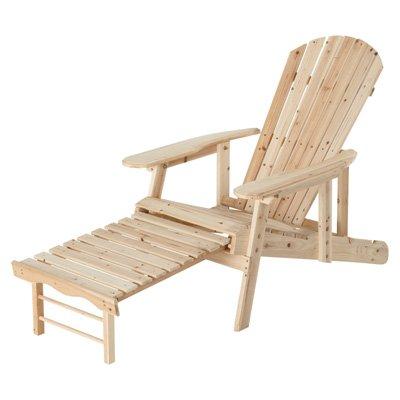 Adjustable Cedarfir Adirondack Chair Says&quotkick Back Relax&quot