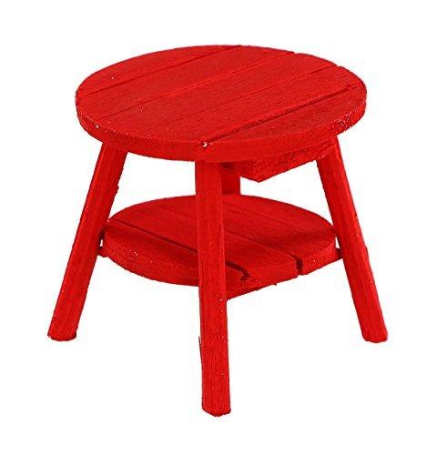 Fairy Garden Adirondack Table Red