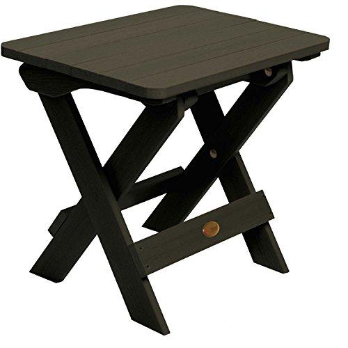 Hamilton Folding Adirondack Side Table - Black