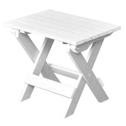 Highwood Folding Adirondack Side Table White