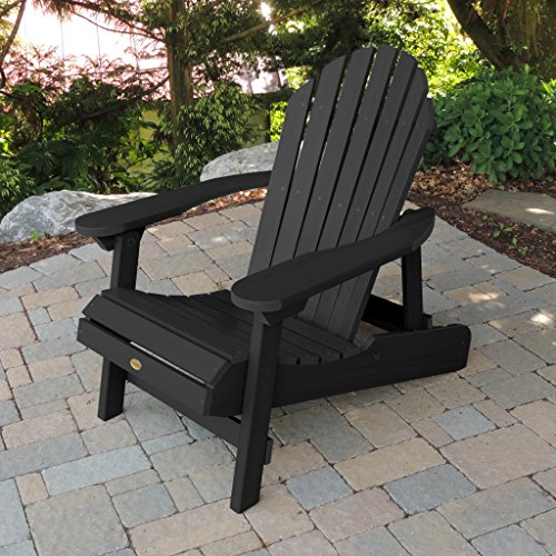 Highwood USA Hamilton Folding Reclining Adirondack Chair