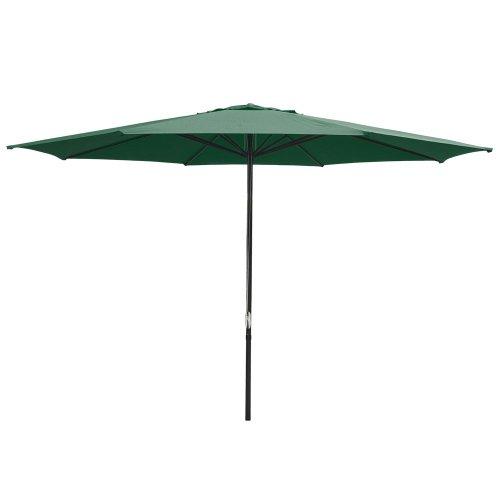 8 Rib Patio Umbrella 13 Feet Green Patio Furniture
