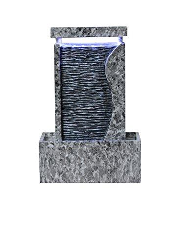 Kelkay F1514203l Marble Waters Edge Tabletop Fountain