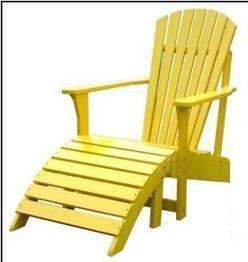 Adirondack Chair -Adirondack Collection - International Concepts Whitewood - C-51903