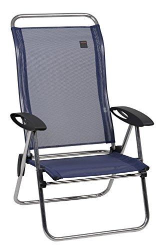 Lafuma Low Elips - Aluminum Folding Beach Chair With Adjustable Back And Iso Batyline&reg Fabric - Oc&eacutean