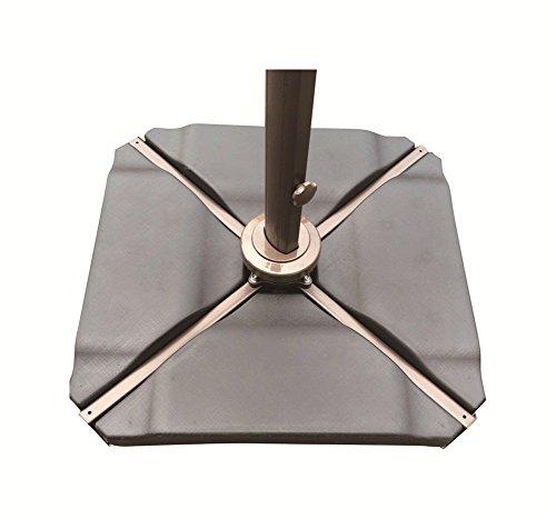 Abba Patio Plastic Umbrella Base Plate Set Black