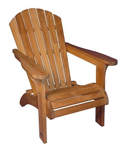 Adirondack Chair Solid Teak - PAIR