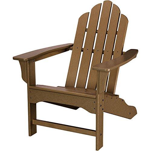 Hanover Outdoor Furniture Hvlna10te All Weather Contoured Adirondack Chair Teak