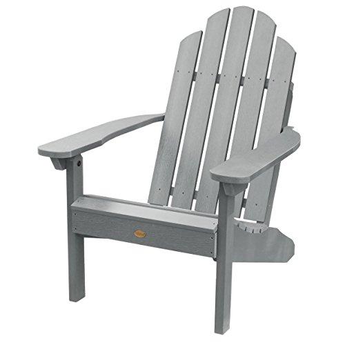 Highwood Classic Westport Adirondack Chair Coastal Teak