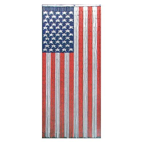 Bamboo54 American Flag Bamboo Outdoor Curtain
