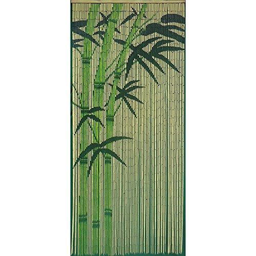 Green Bamboo Curtain