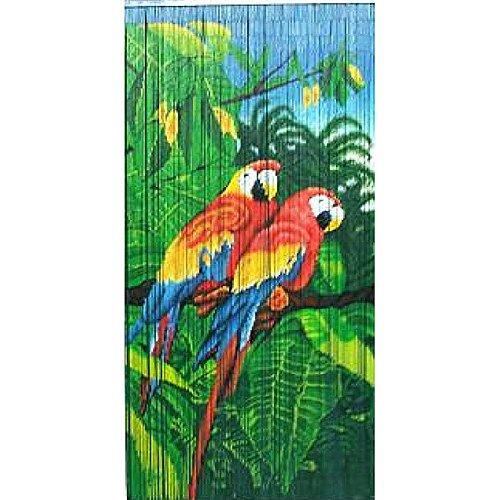 Twin Parrots Bamboo Curtain vietnam
