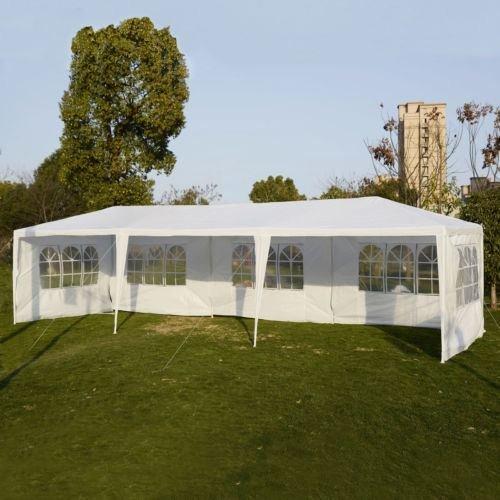 10x30 Party Wedding Outdoor Patio Tent Canopy Heavy duty Gazebo Pavilion Event - White