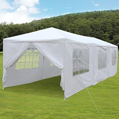 Yaheetech 10x30 Party Wedding Outdoor Patio Tent Canopy Heavy Duty Gazebo Pavilion Event