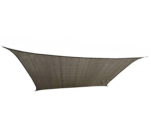 Cool area Square 11 Feet 5 Inches Sun Shade sail UV Block Patio Sail Perfect for Outdoor Patio Garden Swimming Pool in in Color Graphite