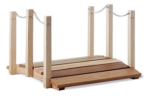 All Things Cedar Garden Foot Bridge With Hand Rails 2