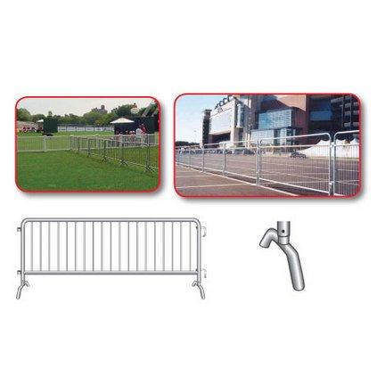 Crowd Control Steel Barricade bridge Foot Design