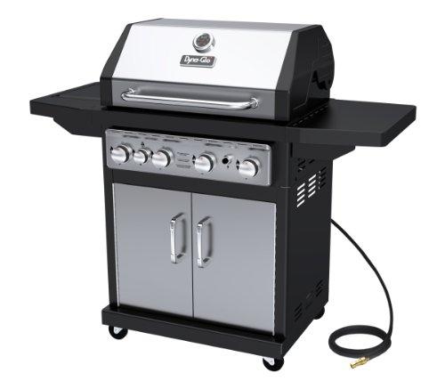 Dyna-glo Blackamp Stainless Premium Grills 4 Burner Natural Gas