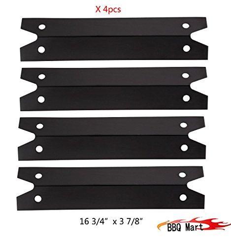 973114-pack Porcelain Steel Heat Plate For Brinkmann Charmglow Models Grills