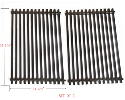 Bbq Funland Gp525 Heavy Duty Porcelain Enameled Replacement Cooking Grill Grid Fit Weber 7525 For Weber Spirit