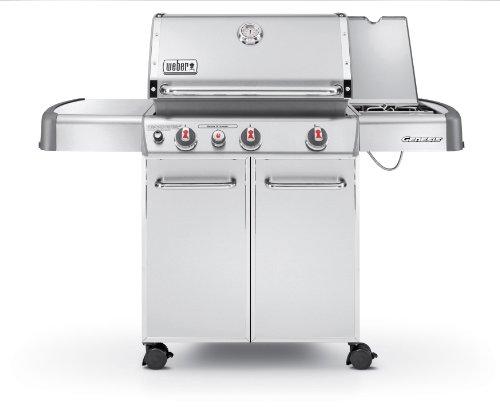 Weber Genesis 6570001 S-330 Stainless-steel 637-square-inch 38000-btu Liquid-propane Gas Grill