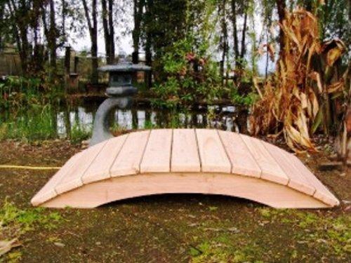 Emerson Redwood Garden Bridge Size - 5 feet
