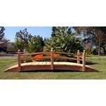 Engels Redwood Garden Bridge Size - 14 feet