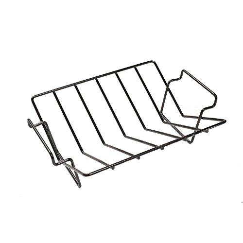 Aura Outdoor Products Dual-purpose Rib And Roast V-rack For Large Big Green Egg Kamado Joe