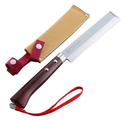 Tomita Nissaku Japanese Garden Machetes No 4165 Stainless Steel Blade 1k-6 HRC 58° with Strap