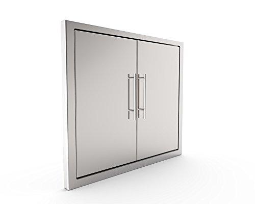 Bbq Access Doorelegant New Style 31 Inch 304 Grade Stainless Steel Bbq Islandoutdoor Kitchen Access Doors