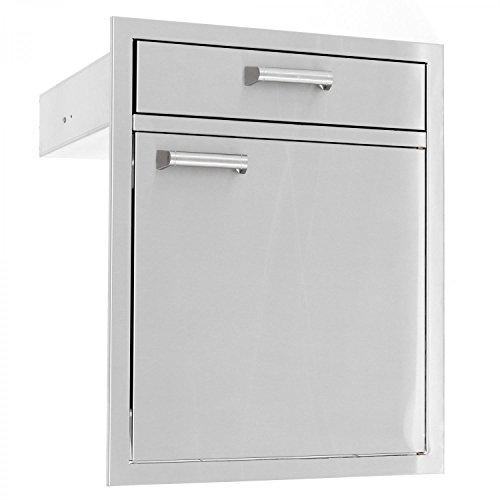 Bbqguyscom Sonoma Series 21-inch Stainless Steel Door Drawer Combo